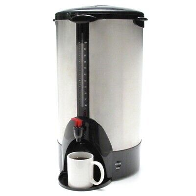 """CoffeePro URN/Coffeemaker100 Cup13-1/2""""x12-1/2""""x23""""Stainless Steel - CASE OF 1"""