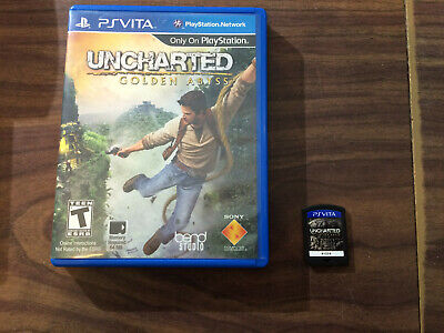 Uncharted: Golden Abyss (Sony PlayStation Vita) with the case -- Tested
