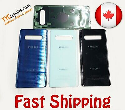 Glass Rear Panel Replacement Battery Back Door Cover Samsung Galaxy S10