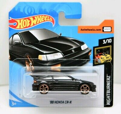 HOT WHEELS '88 HONDA CR-X Série NIGHTBURNERZ n°3/10 - 2019 - n°49/250