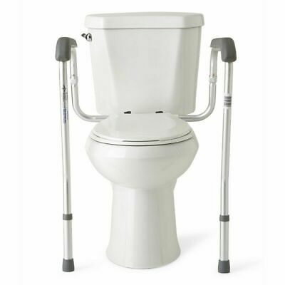 Toilet Safety Rail Frame Elderly Sick Disability Handicap Grab Bar Support Stand