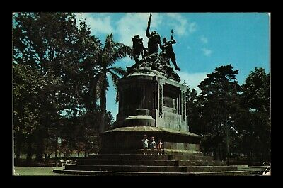 Dr Jim Stamps Commemorative Monument Heroes 1856 Costa Rica Postcard