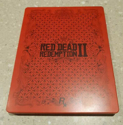 Red Dead Redemption 2 Playstation 4 PS4 Game SteelBook (with additonal features)