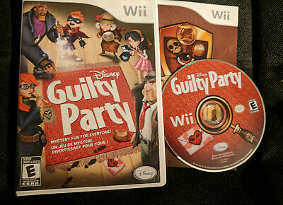 Disney Guilty Party (Nintendo Wii, 2010) Complete