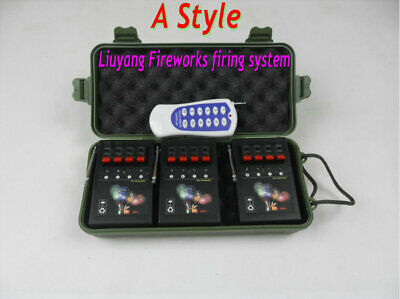 Profession 12 Cues Wireless Remote control Fireworks Firing system+12pcs gift