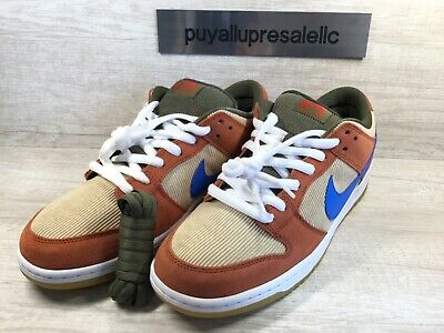 exquisite style lowest discount best prices MEN'S NIKE SB Dunk Low Pro Corduroy. Dusty Peach/Photo Blue ...