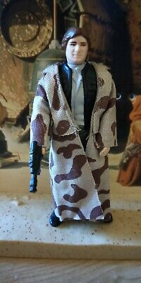 Star Wars Vintage Figure - Han Solo Endor Trench Coat  - No Repro