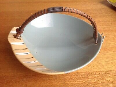 ORIGINAL VINTAGE COLLECTABLE 1950's FRUIT Bowl With HANDLE