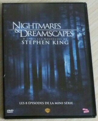 """"""" NIGHTMARES & DREAMSCAPES """" 1 DVD (3 Premiers Episodes) - STEPHEN KING"""