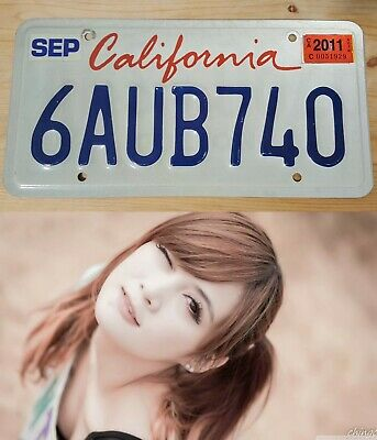 CALIFORNIA LICENSE PLATE Lipstick Style in EXCELLENT condition! Collectible