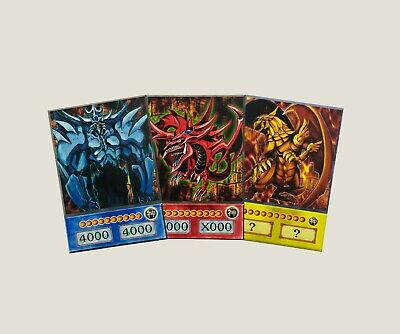 Yugioh Orica~Proxy~Replicas Egyption God Cards Slifer Obelisk Winged Dragon Ra