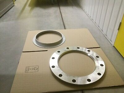 300mm PN16 metric backing flanges with collars