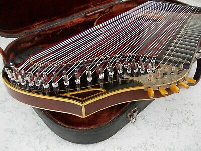 -Zither-Harfenzither  Adolf Meinel 42 Saiten