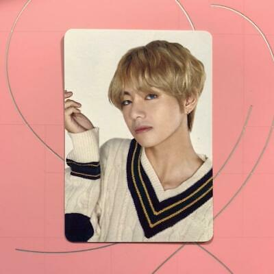 BTS V taehyung Happy Ever After JAPAN OFFICIAL FANMEETING MINI PHOTO CARD b3000