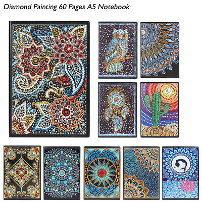 DIY Butterfly Special Shaped Diamond Painting 50 Pages A5 Notebook Art Decor Lot