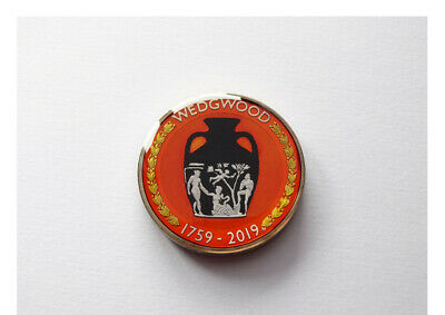 Enamelled Coin 2019 Two Pounds Wedgwood