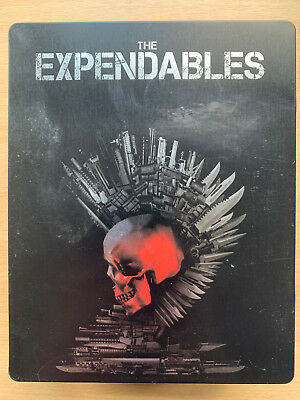 The Expendables 2 2012 Action Sequel GB Blu-Ray + DVD Steelbook