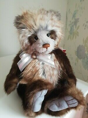 HUGS 2018 Charlie Bears Collectors Club PLUMO BEAR LIMITED EDITION VERY RARE