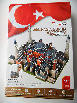 3D Puzzle Hagia Sophia Ayasofya Cubic Fun Moschee Mosque Istanbul Cathedral