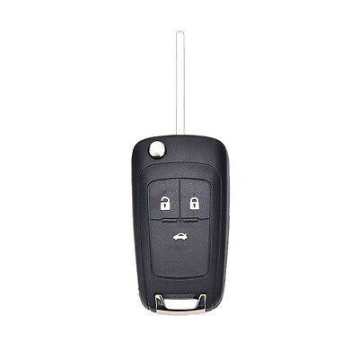 Lip Folding 3 Button Flip Remote Key Shell Case Cover Fob For Chevrolet C TPD