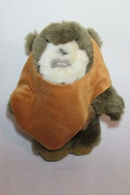 Disney Star Wars Wicket Ewok Plush Stuffed animal 10'' Disney Parks