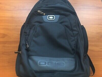 OGIO Wheelie Pack Wheeled Upright Backpack- Black. See Description For Details