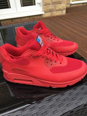RARE NIKE AIR Max 90 Hyperfuse Independence Day UK 8.5. Wear