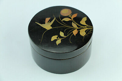 Japanese Paper Mache Lacquered Box