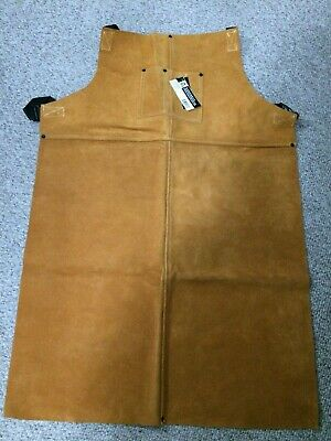 Welding Bib Apron,Leather,36 x 24 In STEINER 92165