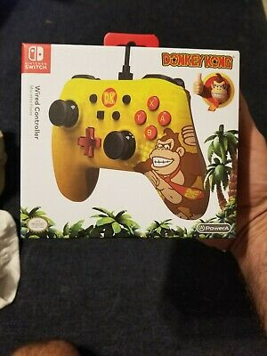 Nintendo Switch Power A Wired Controller DK!!