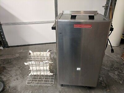 Chattanooga Hydrocollator hot pack heater model SS-2 with 3 hot packs