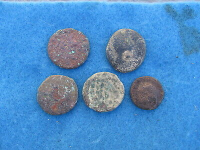 NICE Lot (5) Ancient Iberian Coins of  Spain 2nd to 1st cent.bc