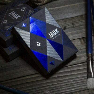 Blue JAQK Playing Cards by Theory 11