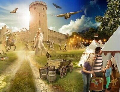 2 Tickets For Warwick Castle Friday 18Th October Rrp £55+