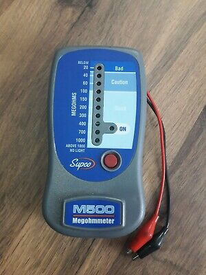 Supco M500 Insulation Resistance Tester