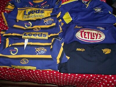 LEEDS RHINOS RUGBY League Jersey Shirt By Patrick | Away | Size