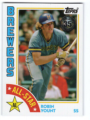 Robin Yount 1984 All-Stars  - 2019 Topps Series 2 - Milwaukee Brewers