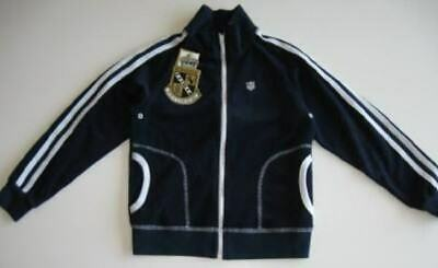 Juicy Couture Girls Navy Terry Tennis Jacket (2) NWT