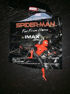 SPIDER-MAN FAR FROM HOME AMC IMAX FIGURINE - BRAND NEW SEALED RARE Tom Holland