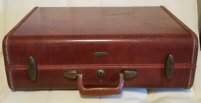 Vintage Samsonite Hardshell Suitcase Luggage Shwayder Bros Denver