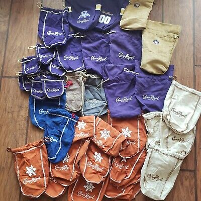 Crown Royal Limited Special Edition Bag Lot New 99¢!! Collect this!