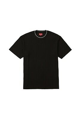 378aba48c20d NEW SUPREME STRIPE Tee Black T-Shirt Sz. Medium - $125.00 | PicClick