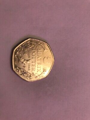 2016 Beatrix Potter Anniversary Coin 50p fifty pence Circulated VGC