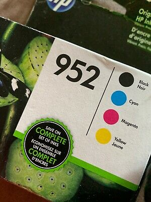 4-PACK HP GENUINE 952 Black & Color Ink (NO RETAIL BOX) OFFICEJET PRO 8710 8715