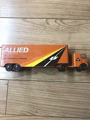Vintage Metal  Allied Moving Truck- Allied The Careful Movers