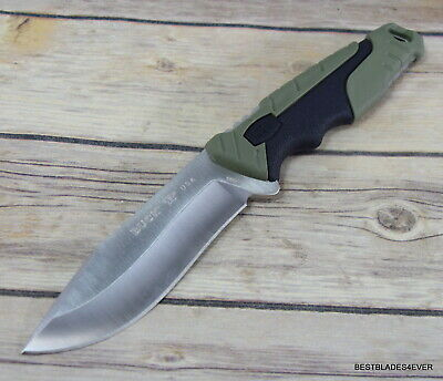Buck Large Pursuit 656 Full Tang Fixed Blade Hunting Knife W/ Sheath Made In Usa