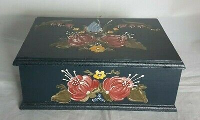 Beautiful Decorative Wooden Storage Box (Weight - 500 g)