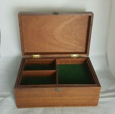 Beautiful Vintage Wooden Storage Box (Weight - 820 g)