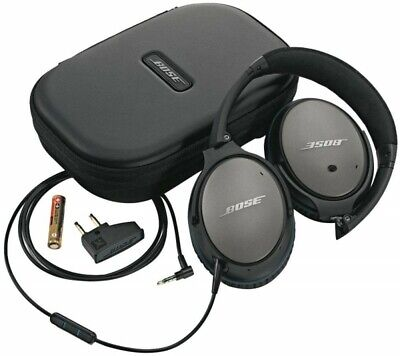 Bose QuietComfort25 QC25 Wired Acoustic Noise Cancelling Headphones Black