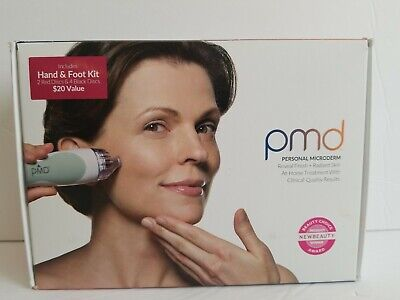 PMD Personal Microderm Device includes Hand & Foot Kit -New Opened Box-